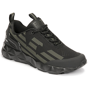 Shoes Men Low top trainers Emporio Armani EA7 ULTIMATE KOMBAT Black