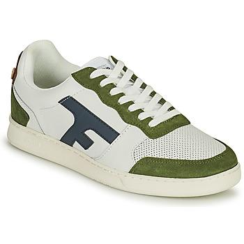 Shoes Men Low top trainers Faguo HAZEL White / Kaki