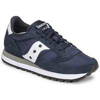 Shoes Low top trainers Saucony JAZZ ORIGINAL Marine / White