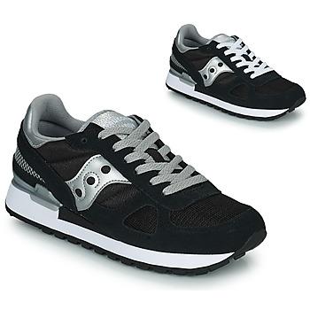 Shoes Women Low top trainers Saucony SHADOW ORIGINAL Black / Silver