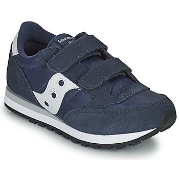 Shoes Boy Low top trainers Saucony JAZZ DOUBLE HL Marine / White