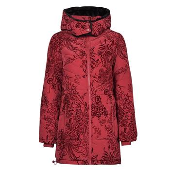 material Women Duffel coats Desigual JAPAN Red