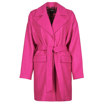material Women coats Desigual RUBI Pink