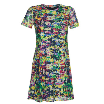 material Women Short Dresses Desigual ANN Multicolour