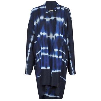 material Women Jackets / Cardigans Desigual BRUMA Blue