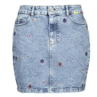 material Women Skirts Desigual LESLIE Blue