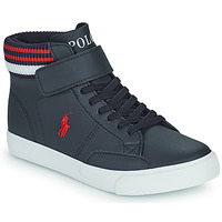 Shoes Children High top trainers Polo Ralph Lauren THERON Marine