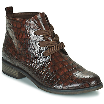 Shoes Women Mid boots Marco Tozzi DRETINA Brown