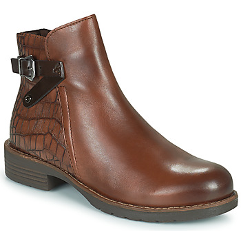 Shoes Women Mid boots Marco Tozzi DEMINA Brown