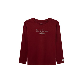 material Girl Long sleeved shirts Pepe jeans NURIA LS Red