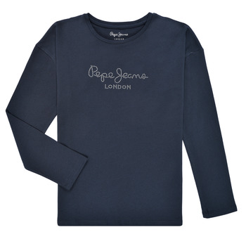 material Girl Long sleeved shirts Pepe jeans NURIA LS Marine