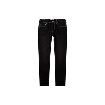 material Boy Skinny jeans Pepe jeans FINLY Blue / Dark