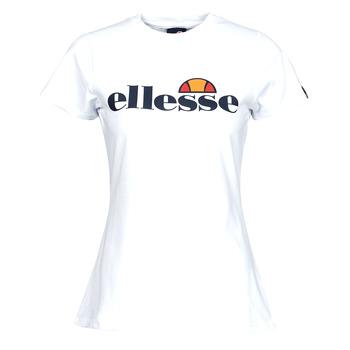 material Women short-sleeved t-shirts Ellesse HAYES SLIM White