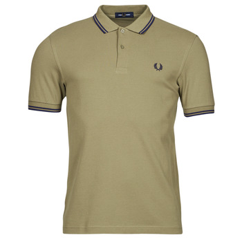 material Men short-sleeved polo shirts Fred Perry THE FRED PERRY SHIRT Beige