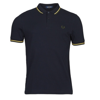 material Men short-sleeved polo shirts Fred Perry THE FRED PERRY SHIRT Blue
