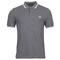 material Men short-sleeved polo shirts Fred Perry THE FRED PERRY SHIRT Grey
