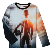 material Boy Long sleeved shirts Desigual FOOTBALL Grey