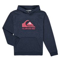 material Boy sweaters Quiksilver BIG LOGO YOUTH Marine