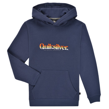 material Boy sweaters Quiksilver PRIMARY COLORS HOOD Blue