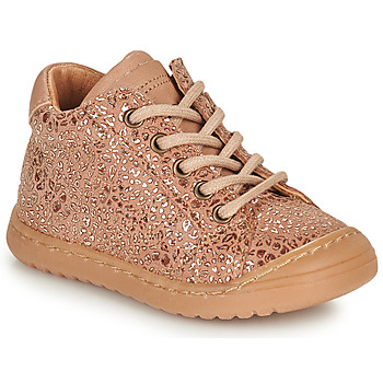 Shoes Girl Mid boots Bisgaard THOR Pink / Gold