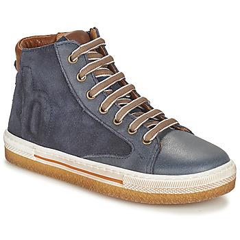 Shoes Boy High top trainers Bisgaard GEORG Marine