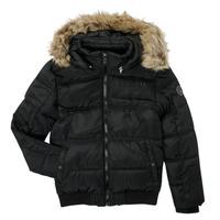 material Boy Duffel coats Kaporal JOMIR Black