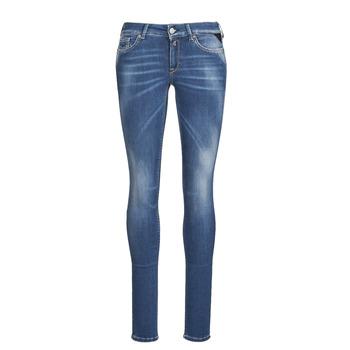 material Women Skinny jeans Replay LUZIEN Blue / Dark