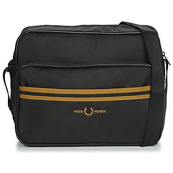 Bags Men Messenger bags Fred Perry TWIN TIPPED SHOULDER BAG Black