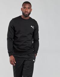 material Men sweaters Puma ESS CREW SWEAT FL Black