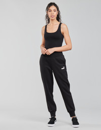 material Women Tracksuit bottoms Puma ESS SWEAT PANT FL CL Black