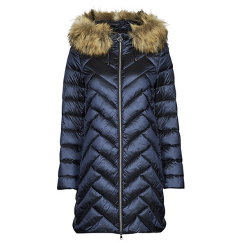material Women Duffel coats Geox BLENDA Blue