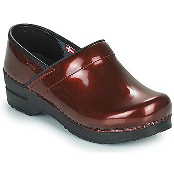Shoes Women Clogs Sanita PROF Bordeaux