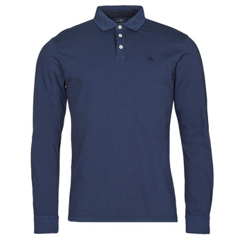 material Men long-sleeved polo shirts Hackett HM550879 Blue