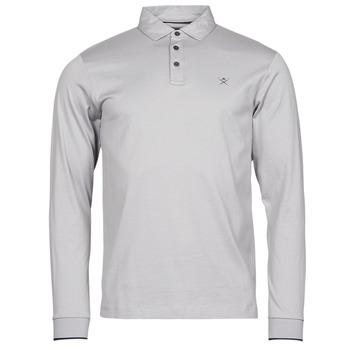 material Men long-sleeved polo shirts Hackett HM550880 Grey