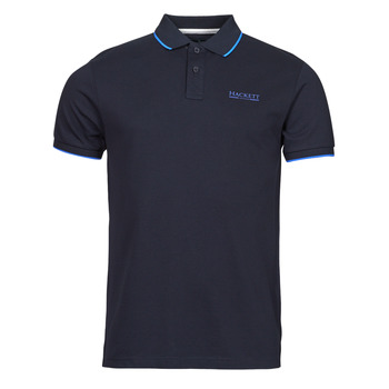 material Men short-sleeved polo shirts Hackett HM562897 Marine