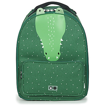 Bags Children Soft Suitcases TRIXIE MISTER CROCODILE Green