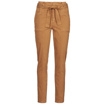material Women 5-pocket trousers One Step FT22111 Beige