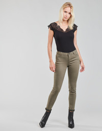 material Women 5-pocket trousers Morgan PETRA Thyme