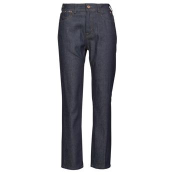 material Women straight jeans Freeman T.Porter MONIKA DENIM Blue / Raw