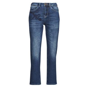 material Women straight jeans Freeman T.Porter MONIKA SDM Blue