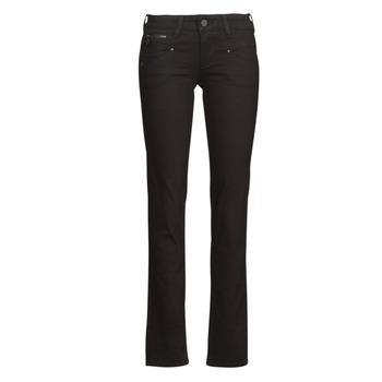 material Women straight jeans Freeman T.Porter ALEXA STRAIGHT S-SDM Black