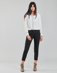 material Women 5-pocket trousers Freeman T.Porter CLAUDIA POLYNEO Black