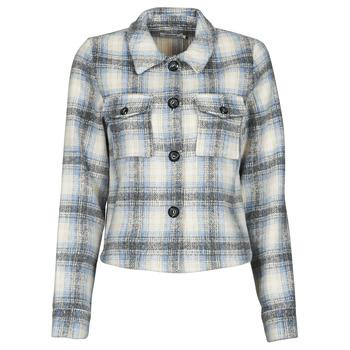 material Women Jackets / Blazers Only ONLLOU Beige / Blue