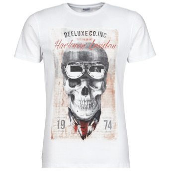 material Men short-sleeved t-shirts Deeluxe CLEM White