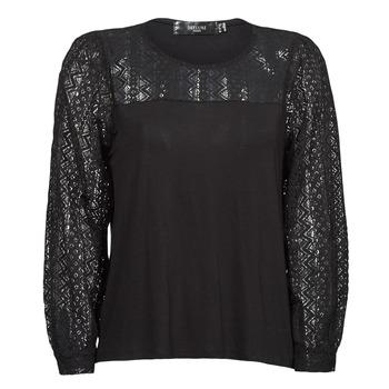 material Women Long sleeved shirts Deeluxe FRIDA Black