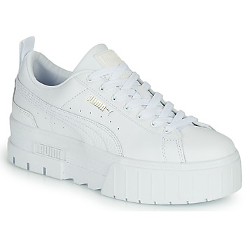 Shoes Women Low top trainers Puma MAYZE White