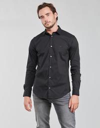 material Men long-sleeved shirts Emporio Armani 8N1C09 Marine