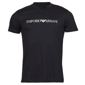 material Men short-sleeved t-shirts Emporio Armani 8N1TN5 Black