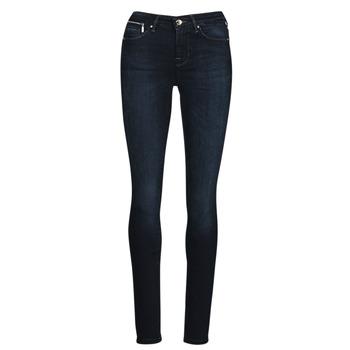 material Women slim jeans Only ONLISA Blue / Dark