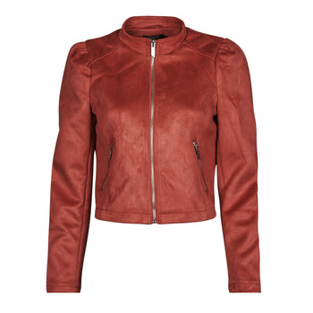material Women Leather jackets / Imitation le Only ONLSHELBY Pink